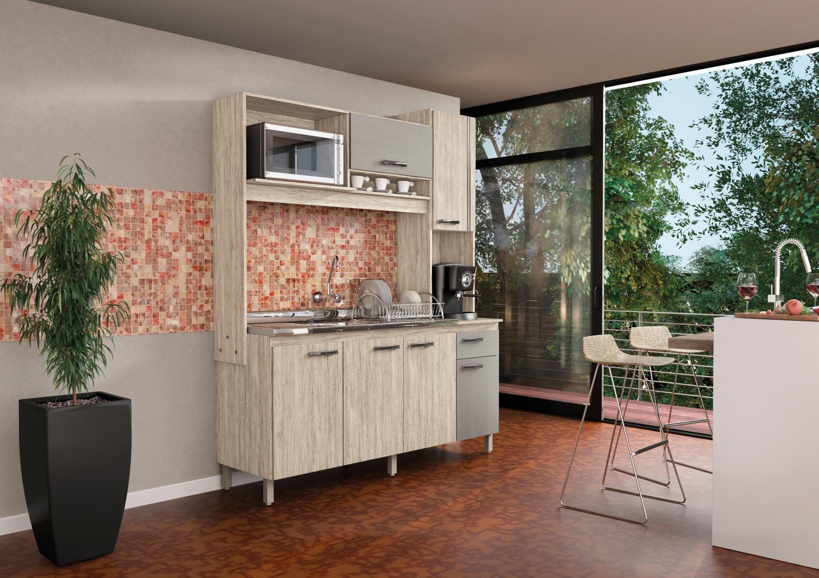 Cozinha Compacta Ariana